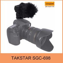 Takstar sgc-698 fotografía entrevista grabación micrófonos micrófono para nikon canon dslr cámara videocámara dv