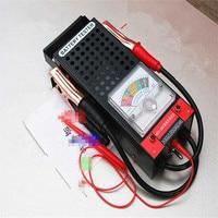 Battery tester Car battery meter Voltage meter Voltmeter 12V Test range: 20Ah 200Ah