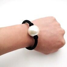 YD&YDBZ New Pearl Bracelets Women Chian Bracelet Rubber Rope Handmade Birthday Gift Girl Hand Chains Jewelry Fashion