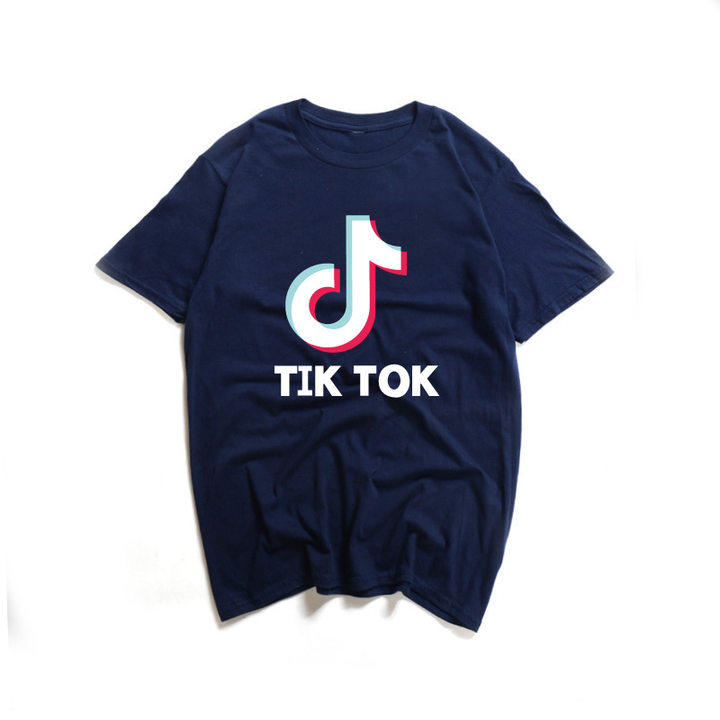 2019 Summer Cool T Shirt Men Women TIK Print Cotton Tee Shirt O-Neck Short Sleeves TOK Funny T Shirt Casual Tees Tops Рубашка