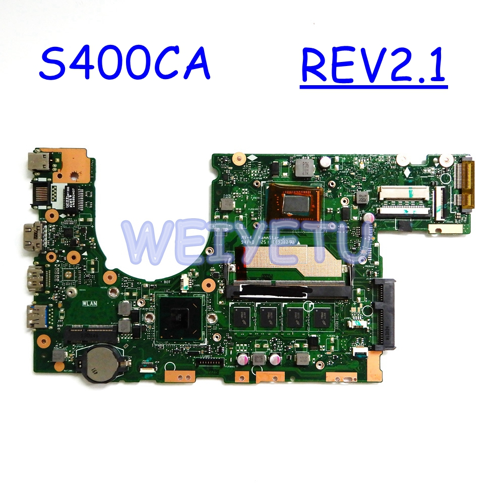 S400ca 4gb Ram 2117 Computer & Office I3 /i5 I7 Cpu Motherboard Rev2.1 For Asus S400c S500c S400ca S500ca Laptop Mainboard Tested Working