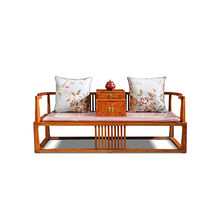 Antique mahogany furniture bedroom arhat bed(China)