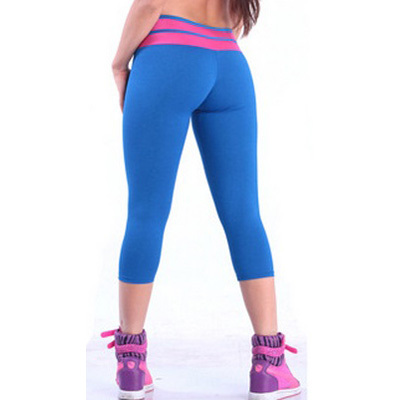 Aliexpress.com : Buy Fashional Fitness Mid calf Yoga Pants With V ...