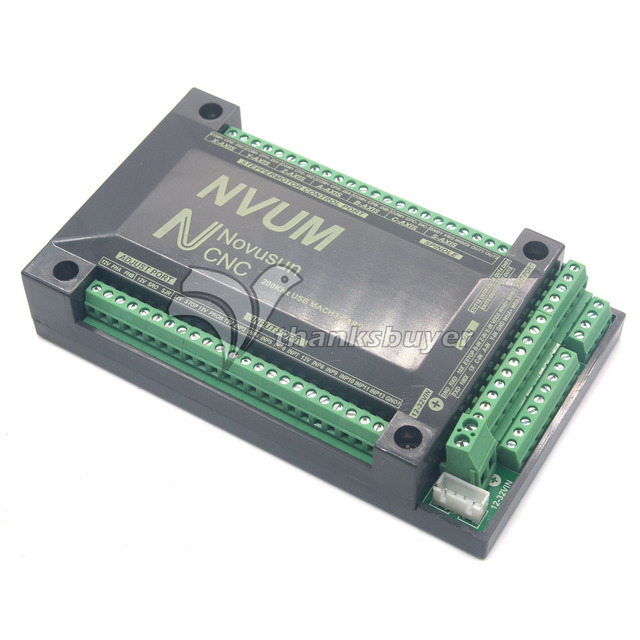 3 Axis/4 Axis/5 Axis/6 Axis Controller USBMACH3 Interface Breakout Board Card CNC 200KHz Stepper Motor Driver USB Mach3