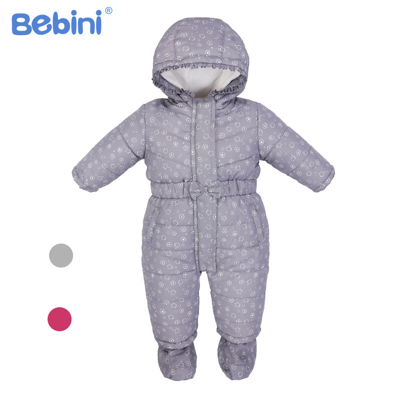 Bebini Baby Rompers Winter Thick Boys Costume Girls Warm Infant Snowsuit Kid Jumpsuit Children Outerwear Baby Wear 0-18m цены