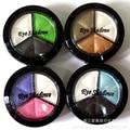 Professional Natural Matte Eyeshadow Makeup Eye Shadow Waterproof Smoky Cosmetic Set 3 Colors Palette Naked Nude Glitter