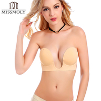 New Fashion Sexy Women Seamless Bra Push Up Padded High Quality Underwire 1 2 Cup Strapless