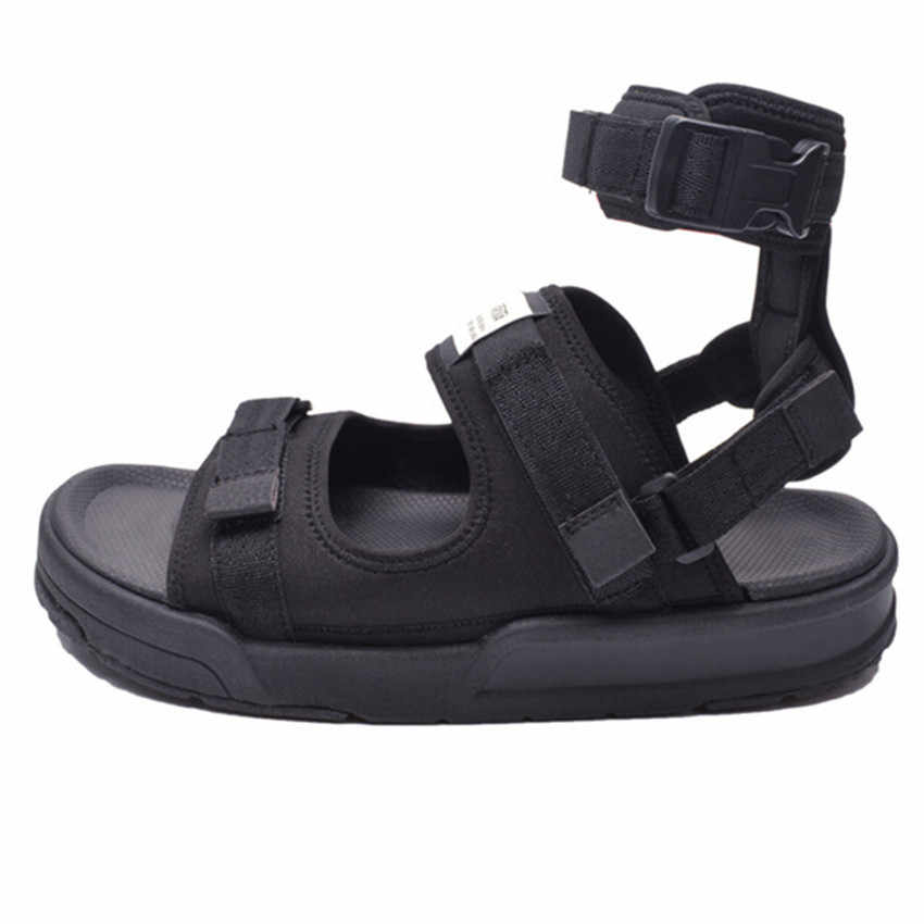 6c4ee868fc286 Summer beach sandal shoes men leather leisure 2018 new youth sandals  menswear antiskid Vietnam is cool