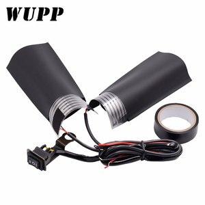 Image 1 - WUPP 1 çift motosiklet gidonu elektrikli sıcak motosiklet ısıtma kolu ısıtmalı sapları kolu ayarlanabilir anahtarı sıcaklık