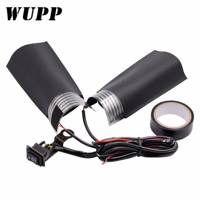 Wupp 1 Xe Máy Tay Cầm Điện Xe Máy Làm Nóng Tay Cầm Nóng Cầm Tay Cầm Với Công Tắc Điều Chỉnh Nhiệt Độ