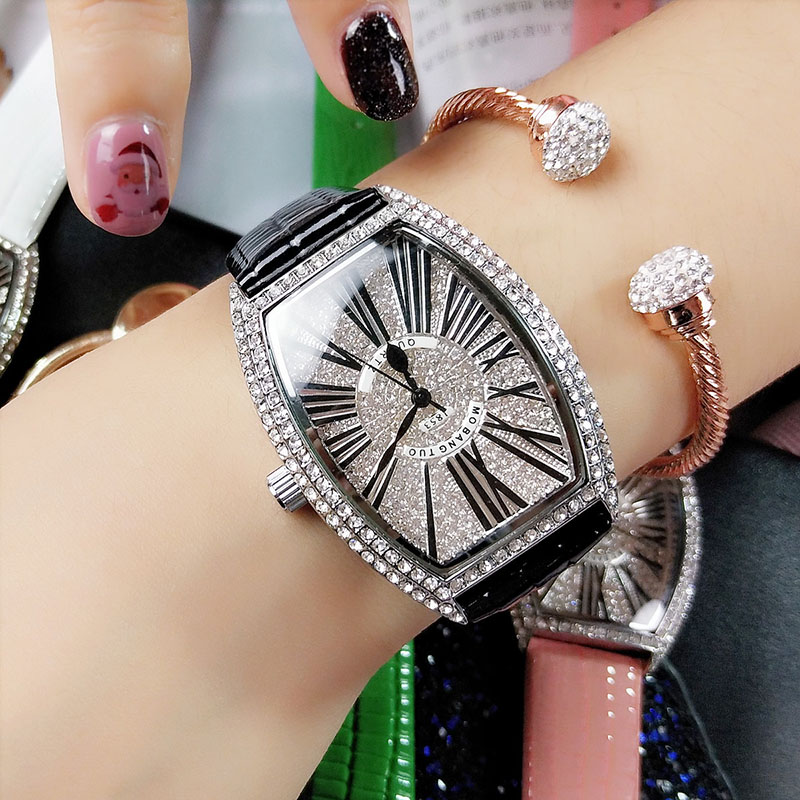 Top Brand Watches Women Casual Dress Watch Women Leather Band Quartz Wrist Watch ladies Clock Montre Femme Reloj Mujer