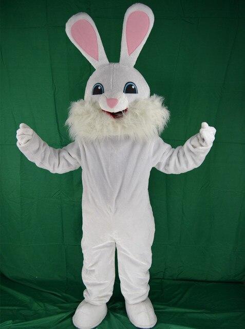 Easter Bunny Mascot Costume Bugs Rabbit Hare Adult Top Quality Cartoon Rabbit Cartoon Costumes Halloween Carnival Character Suit