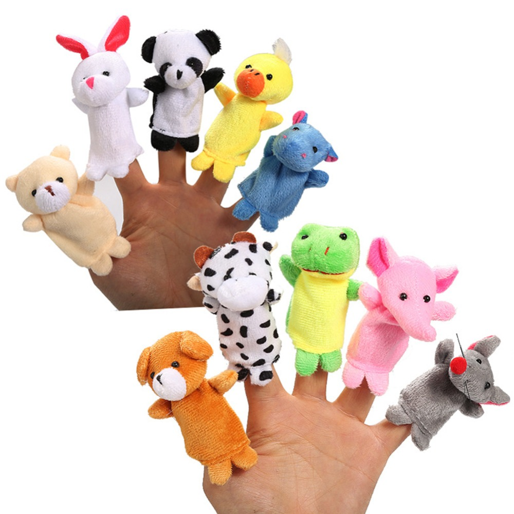 Christmas Toys.Us 5 88 5 Off Baby Toy Cartoon Animal Finge Toys Christmas Toys For Children Gift Game In Gags Practical Jokes From Toys Hobbies On