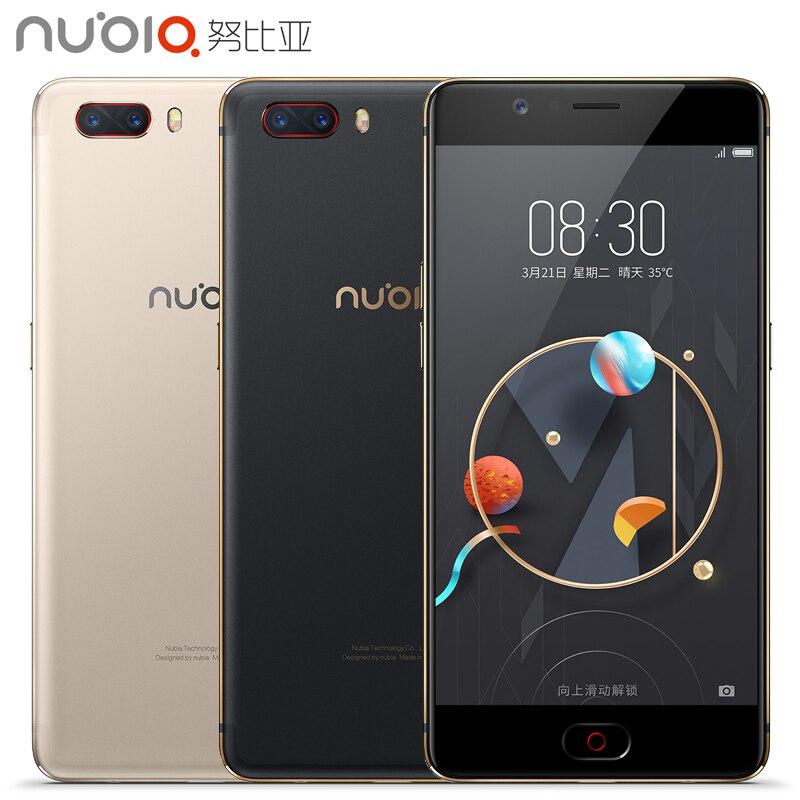 Original Nubia M2 Cell Phone Snapdragon 625 Octa Core 4GB RAM 64/128GB ROM 5.5&#8243; Screen <font><b>13MP</b></font> Dual Camera 3630mAh 4G <font><b>Smartphone</b></font>