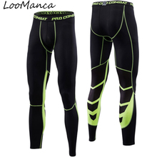Compression Basketball Pants New 2018 Sports Running Tights Elastic Quick Dry Men Jogging Leggings Gym font