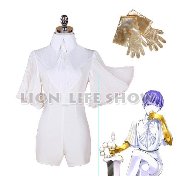 Houseki no Kuni cos Phosphophyllite Cinnabar Diamond cosplay costume uniform