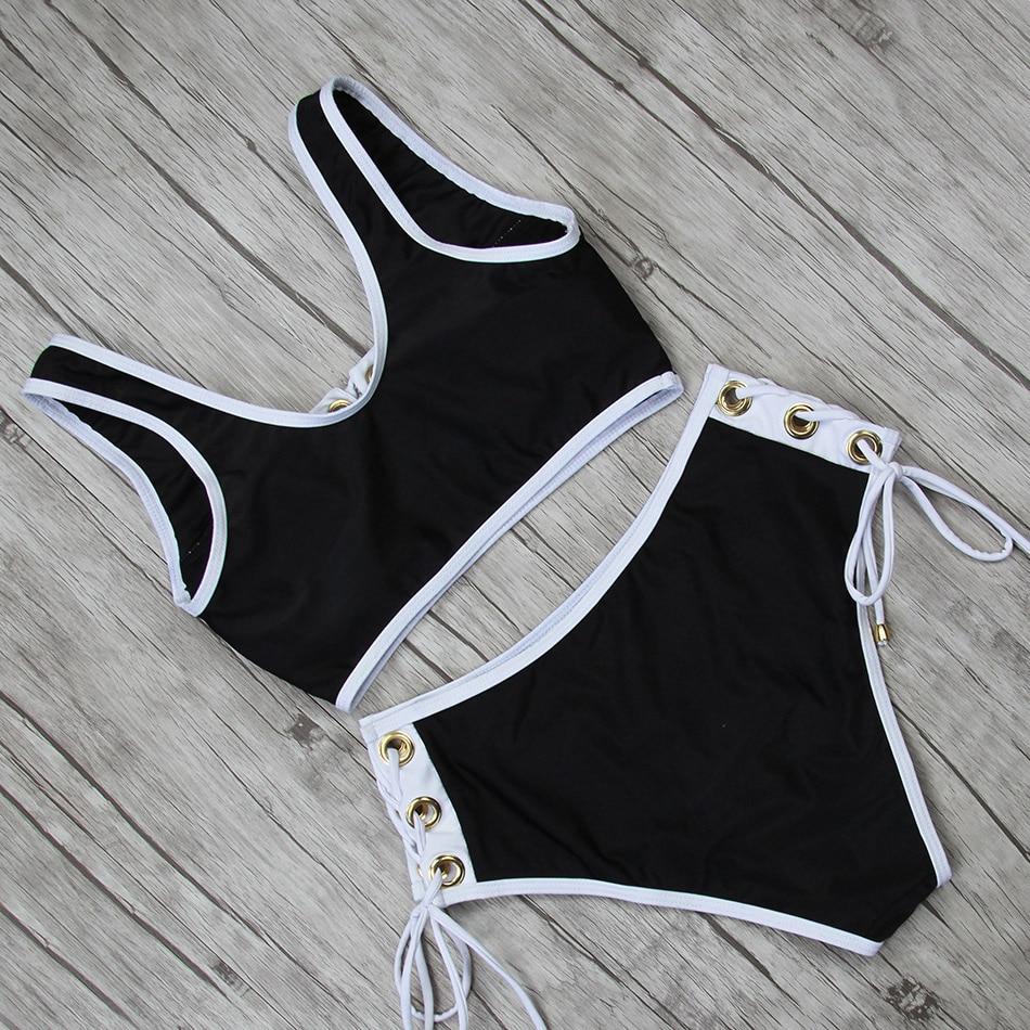 HTB1Gy9HO4TpK1RjSZFMq6zG VXap LI-FI 2019 Sexy Bikini Women Swimsuit Push Up High Waist Lace Swimwear Halter Bikini Set Beach Bathing Suit Swim Wear Maillot
