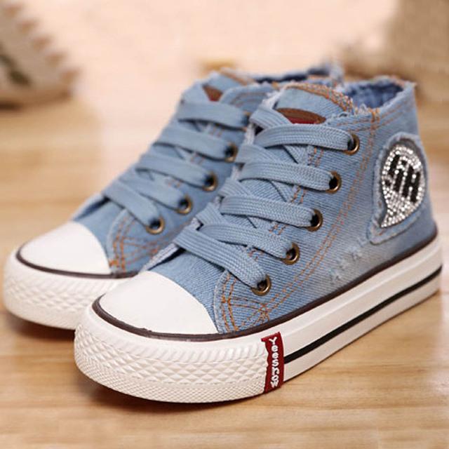 2017 nuevos niños del estilo de los muchachos de la lona shoes lace up kids sport shoes unisex niños casual shoes tamaño de walker 9-3