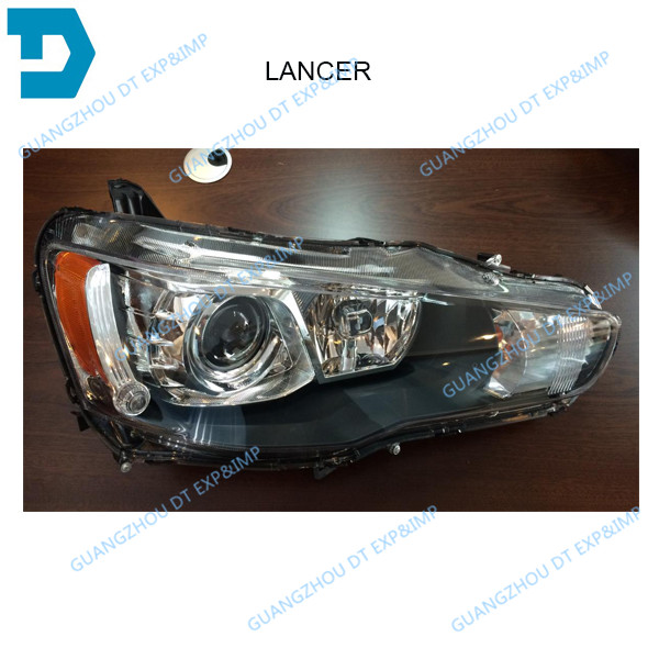 ФОТО 2007-2015 LANCER HEADLIGHT 8301A458 8301B433 8301A457 8301B432 FOR MITSUBISHI FORTIS WITHOUT BULB AND BALLAST