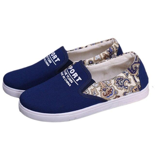 2017 Nueva Moda Boca baja Zapatos de Lona de Las Mujeres Ocasionales Planos Zapatos Un pedal antideslizante Estudiantiles Zapatos de Fondo Plano 12 ZYH