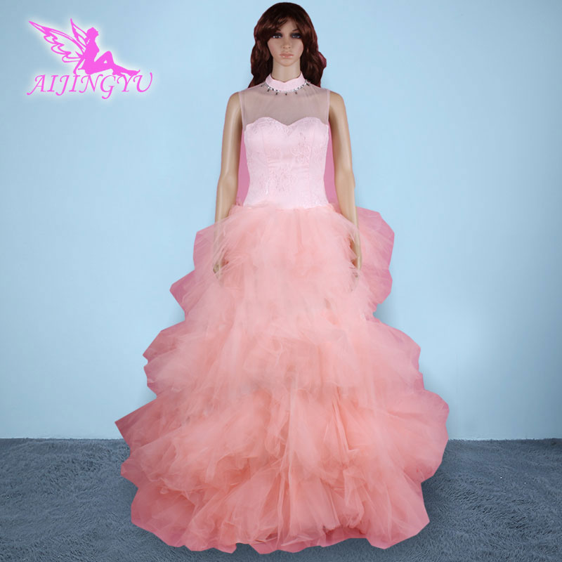 37ffd0492 AIJINGYU 2018 baru gratis pengiriman sexy wanita gadis wedding dresses gaun  pengantin yang baik sy76