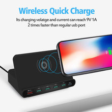 Quick wireless charger for iphone samsung huawei tablet QC3.