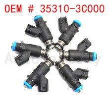 מקורי חדש 6PCS דלק מרססים נחיר 35310 3C000 עבור יונדאי AZERA VERACRUZ פמליה עבור Kia 2006 2010 3.3L 3.8L v6