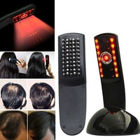Massage Laser treatment Comb Stop Hair Loss promotes the of new hair growth Regrowth Hair Loss Therapy vibrator