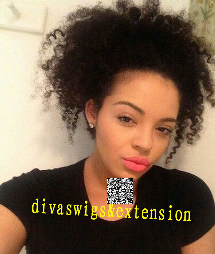 African afro curly ponytail indian remy hair extensions virgin african afro curly ponytail indian remy hair extensions virgin indain women drawstring kinky curly ponytails hairpiece in ponytails from hair extensions pmusecretfo Image collections