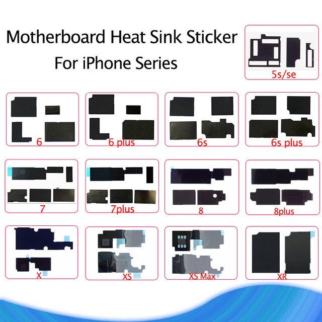 Материнская плата Антистатическая теплоотвод наклейка для iPhone X XS Max XR 8 7 клей логическая плата рассеивание тепла охлаждение 6 6 S плюс SE 5S