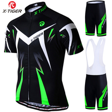 X-Tiger Pro Cycling Jerseys Set Summer Cycling Wear Mountain Bike Clothes Bicycle Clothing MTB Bike Clothing Cycling Suit