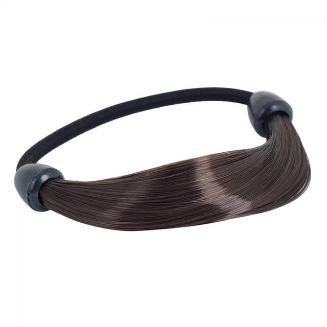 2 pcs Synthetic Wig Elastic Rope