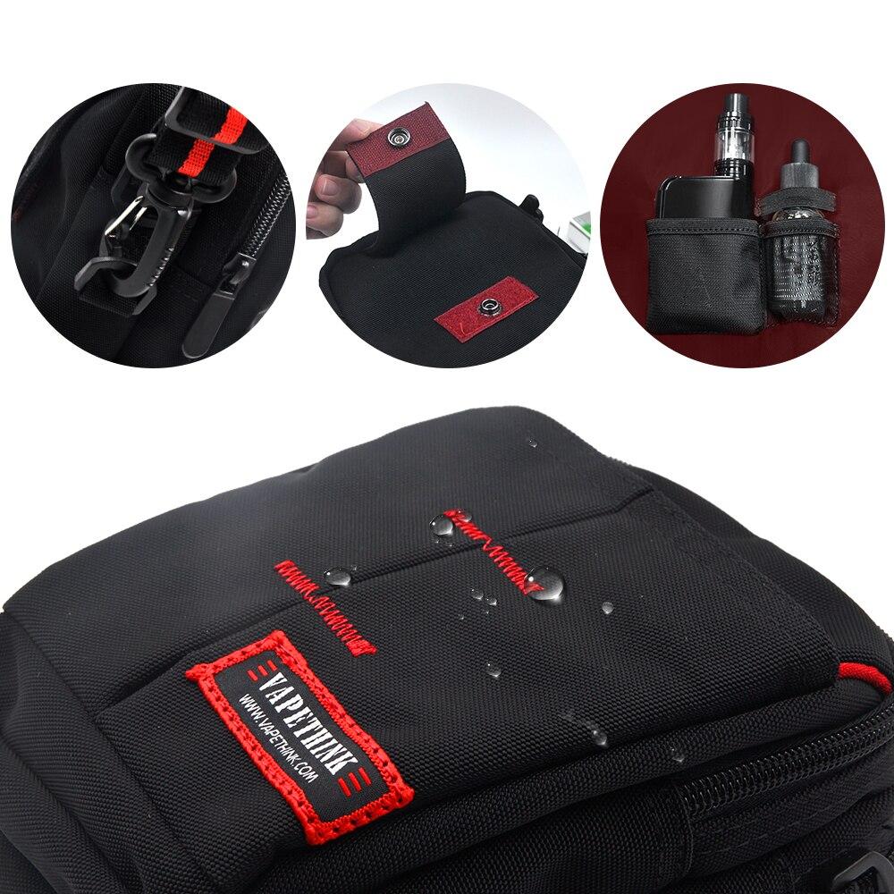 Vapethink Vape Tool Kit Bag Vapor Bag For Electronic Cigarette Rta Rba Rda Mod Kit 18650 Battery Tools Carry Bag Vape Case Black