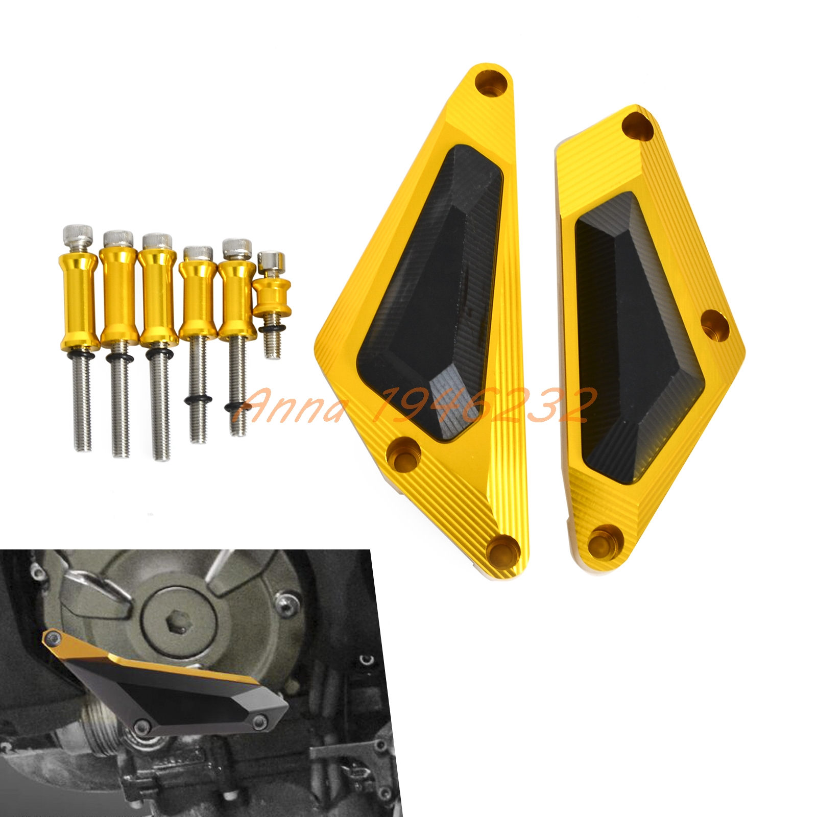 Motorcycle Engine Slider Cover Crash Protector  For MT-07 MT07 MOTO CAGE TRACER 700 XSR700 2014-2016 Motocross Enduro Supermoto цена 2016