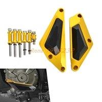 Motorcycle Engine Slider Cover Crash Protector For MT 07 MT07 MOTO CAGE TRACER 700 XSR700 2014