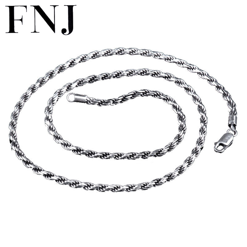 figaro gauge chain sstr necklace sterling chains jewelry bling sliver mens silver italy
