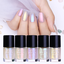 ФОТО born pretty 9ml transparent shell glimmer nail polish shiny glitter nail lacquer varnish polish nail art