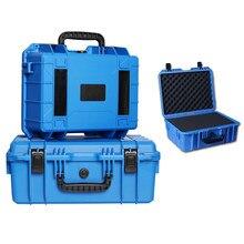 Abs Plastic Verzegelde Tool Case Veiligheid Apparatuur Camera Toolbox Koffer Slagvast Opslag Shockproof Droge Doos Met Schuim
