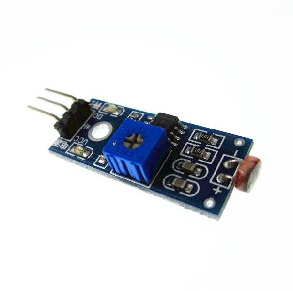 100 Stücke Lm393 Optische Empfindlich Widerstand Licht Erkennung Lichtempfindliche Sensormodul 4pin Diy Kit GroßE Vielfalt