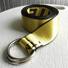 GUMNHU 100-200cm letter print Street Style Canvas Belt Industrial Letters Canvas Belt Women Men Punk Embroidery Waist Strap(China)