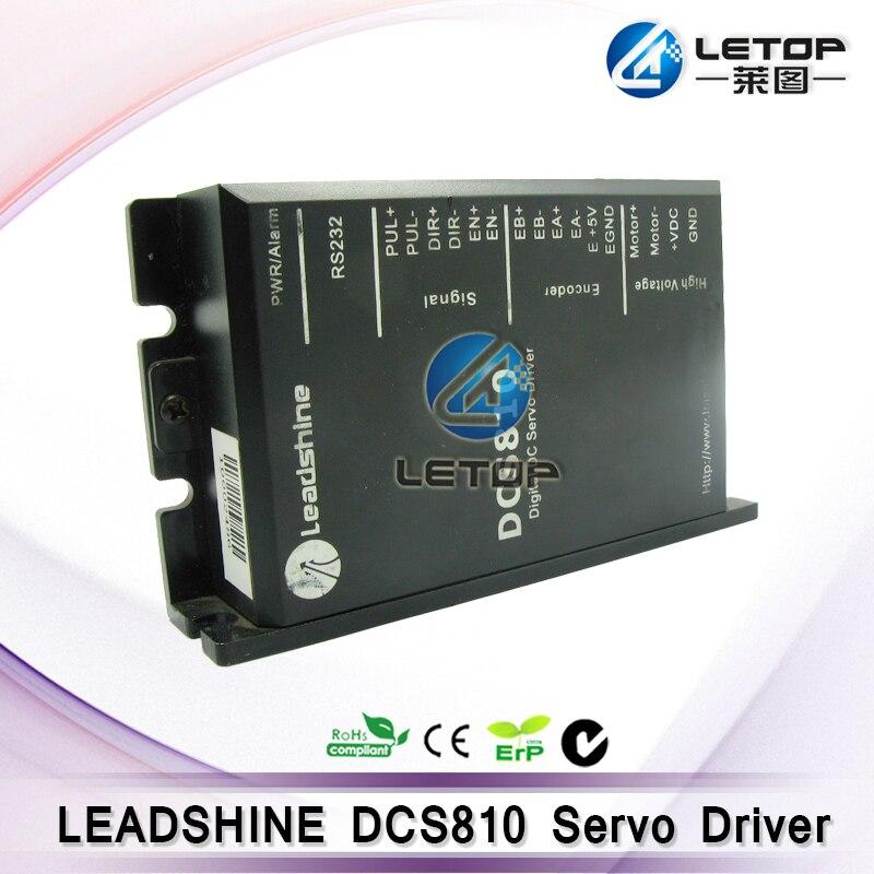 Leadshine DCS810 dc conducteur de moteur servoLeadshine DCS810 dc conducteur de moteur servo