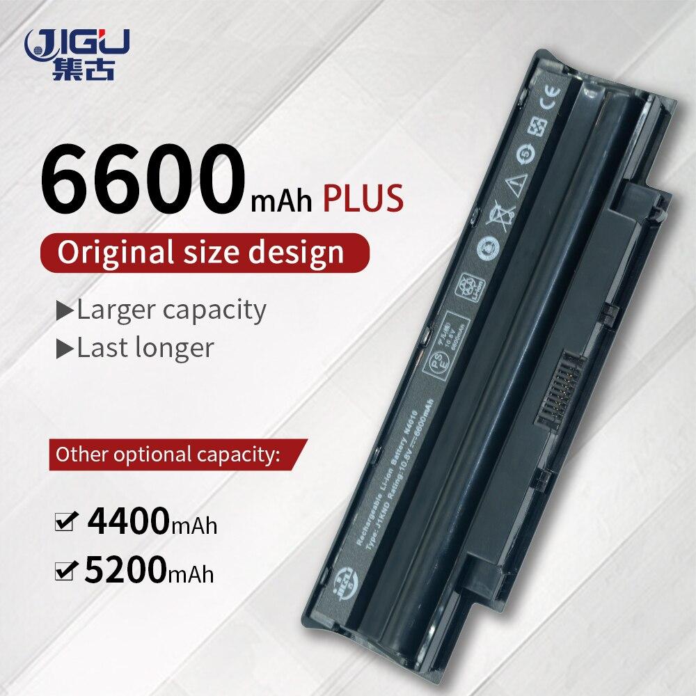 JIGU 6 Cells TKV2V YXVK2 J4XDH Laptop Battery For DELL Inspiron 15R 5010-D330 N5010D 17R N7010 M501 M501R N3010 N4010 N5010