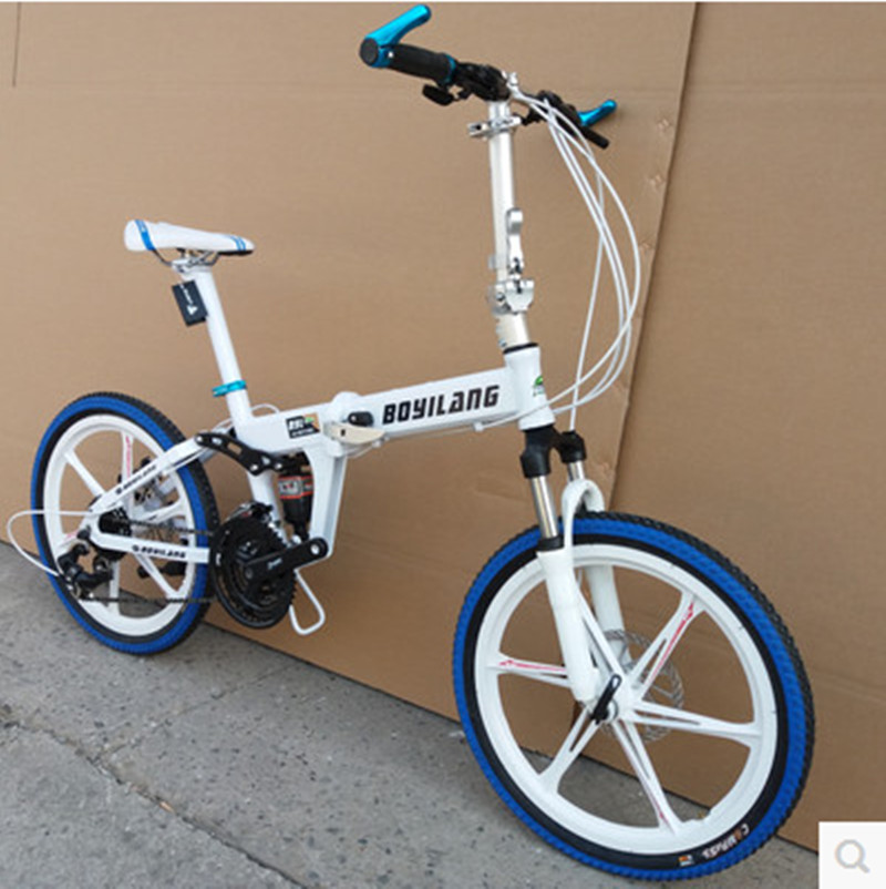 Folding bicycle mountain bike road racing bicycle 21/24/27/30speed ...
