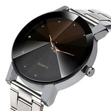 Fashion Women Watch Crystal Stainless Steel Analog Quartz Wrist Watch Bracelet 2019 woman man lover gift watches brand luxury A стоимость
