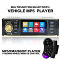 4.1 Bluetooth Car Stereo Audio In-Dash FM Aux Input Receiver SD USB MP3 Radio