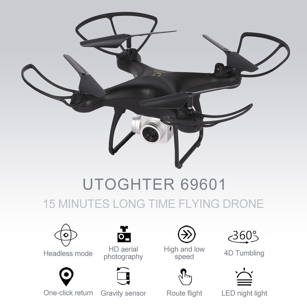 4CH Wide Angle Lens 720P Camera WiFi FPV RC Drone H/L Speed Altitude Hold Headless Mode Quadcopter Utoghter 69601 RC Helicopter4CH Wide Angle Lens 720P Camera WiFi FPV RC Drone H/L Speed Altitude Hold Headless Mode Quadcopter Utoghter 69601 RC Helicopter
