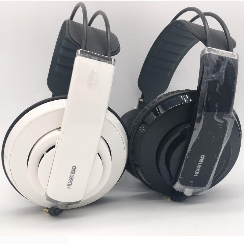 Superlux HD681 EVO профессиональные наушники для мониторинга улучшенная версия съемный аудио кабель наушники стерео HiFi DI гарнитура