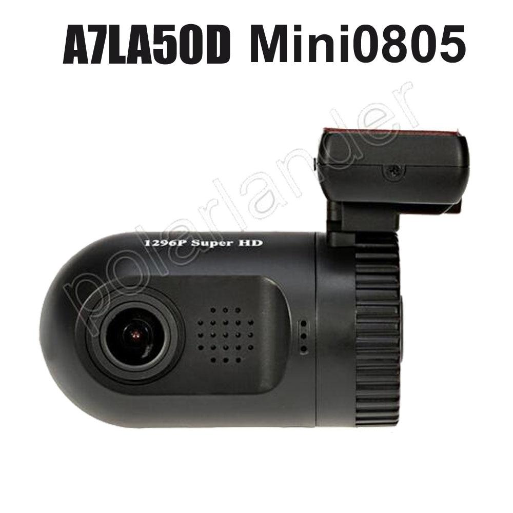 """1.5"""" LCD A7LA50D Mini 0805 Car DVR Dash camera Auto Video Registrator Car GPS Logger WDR G-sensor HD 1296P Camrecorder"""