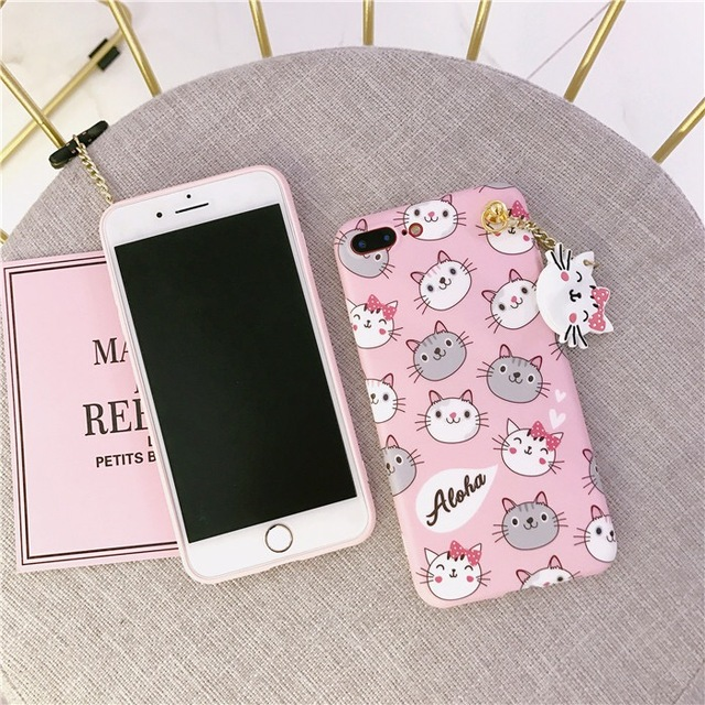 wholesale dealer 23a13 1544a US $3.25 |Cute Smile Bowknot Cat Cases For Oppo F1s Mobile Phone Back  Covers For Oppo F3 A37 A39 A57 V5S V7 Soft TPU Case With cat Pendant-in  Fitted ...