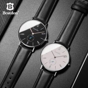 Bestdon montre hommes minimaliste étanche Quartz mouvement de luxe marque hommes montres décontracté classique montre-bracelet mâle nouveau